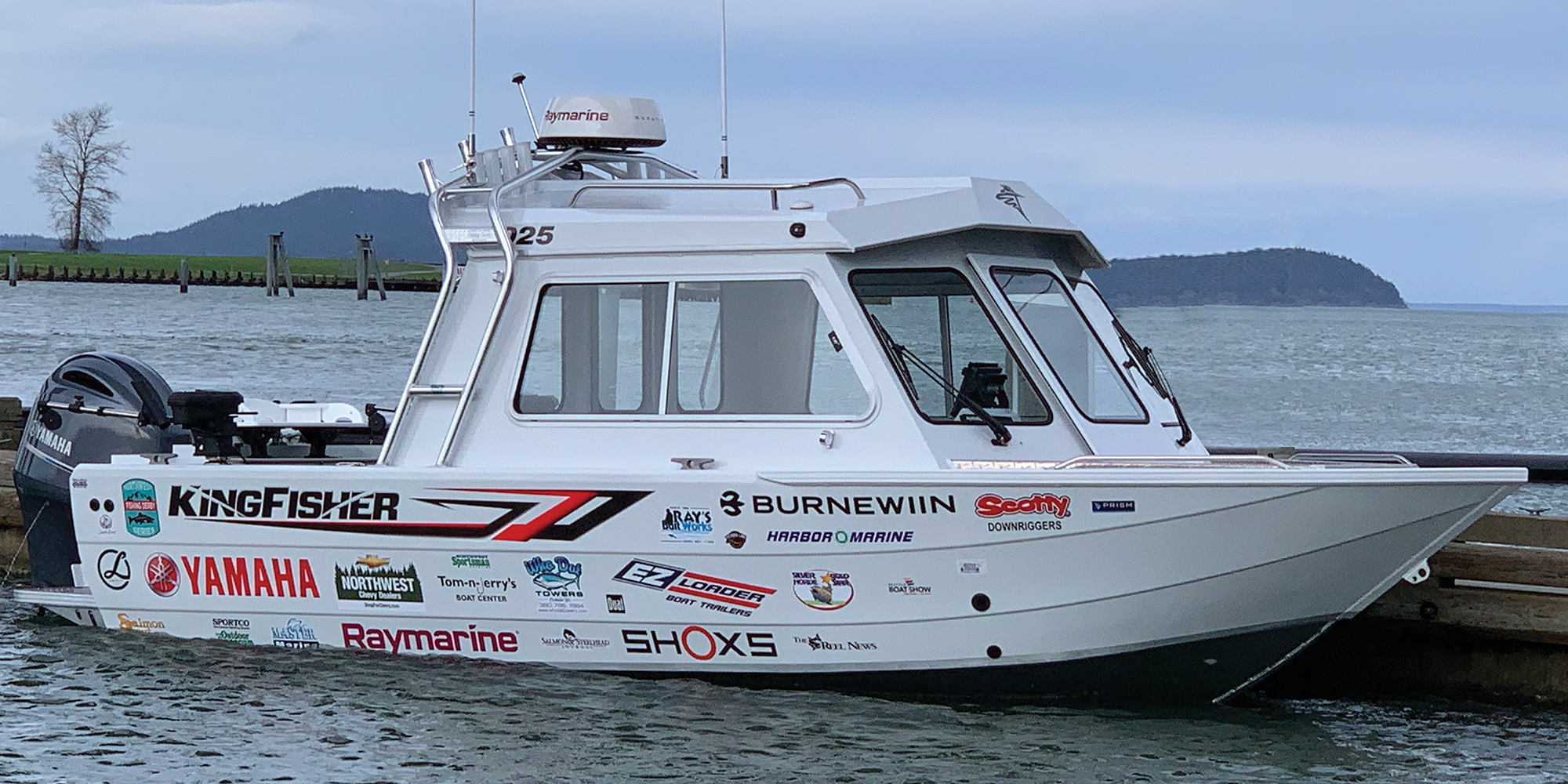 2020 Northwest Fishing Derby Series grand prize boat